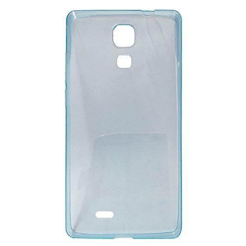 Easbuy Handy Hülle TPU Silikon Case Etui Tasche Schutzhülle für CUBOT P11 (Blau)
