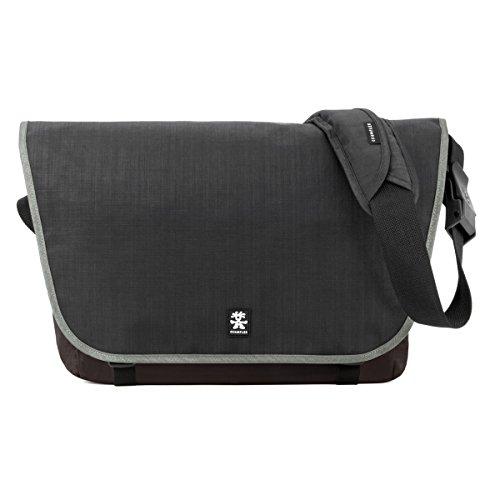 Preisvergleich Produktbild Dinky Di Laptop Messenger L Laptop + Tablet Umhängetasche Schwarz / Espresso DDLM-L-007