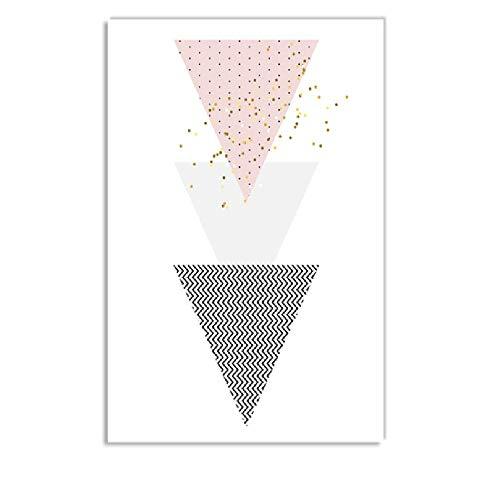 Abstrakte Pfandrecht Geometrie Liebe Zitate Moderne Nordic Poster Und Drucke Wandkunst Leinwand Malerei Wandbilder Für Wohnzimmer Dekor d zz 80x100cm