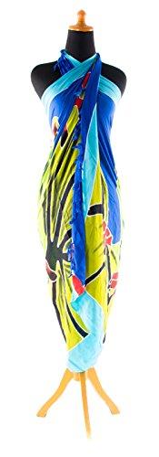 Beste Auswahl Großer Premium Sarong Pareo Wickelrock Strandtuch Schal Handtuch Wickelrock Modell 1