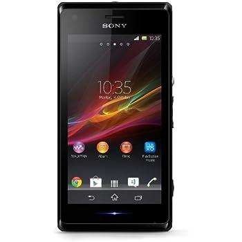 "Sony Xperia M - Smartphone libre Android (pantalla 4"", cámara 5 Mp, 4 GB, 1 GHz, 1 GB RAM), negro [Importado de Alemania]"