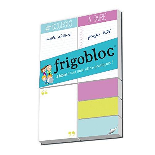FrigoBloc 6 blocs: Mes 6 mini blocs pour bien m'organiser !