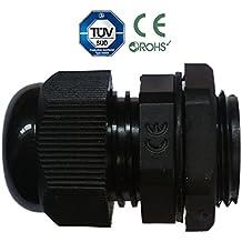 Sucre ausiliario® Pressacavi–impermeabile IP68compressione M8M12M16M20M24M24nero o bianco