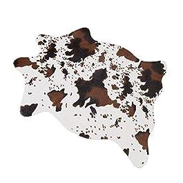 Tapis en fausse fourrure de mouton – Tapis moelleux en fausse fourrure – Housse de chaise – Pour chambre à coucher ou…