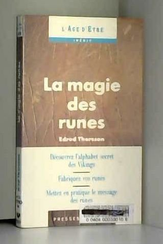 La magie des runes par Edred Thorsson
