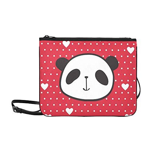 WYYWCY Grußkarte Valentinstag Muttertag benutzerdefinierte hochwertige Nylon dünne Clutch-Tasche Umhängetasche Umhängetasche