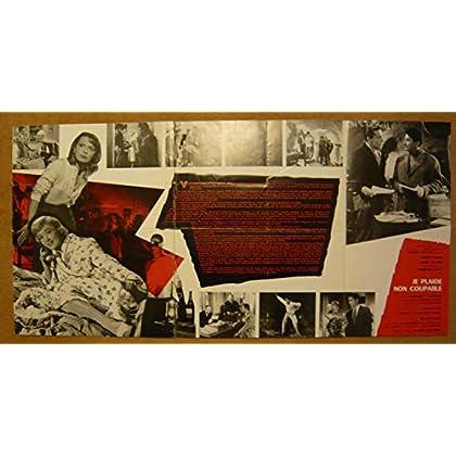 Dossier de presse de Je plaide non coupable (1956) – Film de Edmond T. Greville avec Jacqueline Sassard, Debar, Justin, Lupovici – Photos N&B – résumé du scénario - bon état.