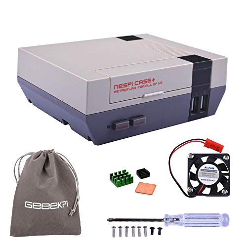 Plus Updated Box Shell With Safe Shutdown Functional Power Switch Better Than Nespi Case Great Varieties Dedicated 2018 Raspberry Pi 3 Nespi Case+