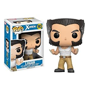 Funko Pop Logan en camiseta (X-Men 193) Funko Pop Marvel
