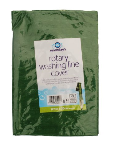 Rotary washing line cover Test
