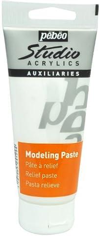 Pebeo Studio Acrylics Auxiliaries - Modelling Paste 100ml