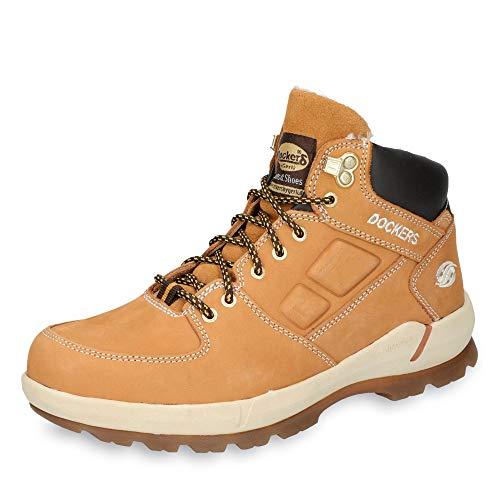 Dockers by Gerli Herren 39OR103 Hohe Sneaker, Gelb (Golden Tan 910), 47 EU