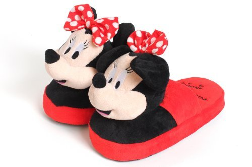High street tv - ciabatte in peluche della disney con minnie, per bambina