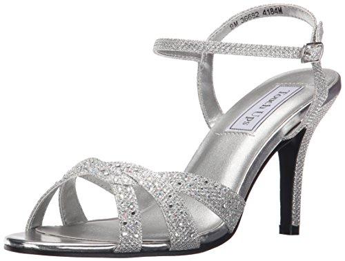 Touch UpsDulce - Dulce Damen, Silber (Silber/Glitzer), 36 B(M) EU Touch-ups Low Heel Heels