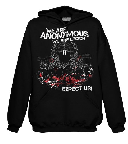 Chameleon Clothing Geek Anonymous Crowd 701569 Herren Hood 001 M