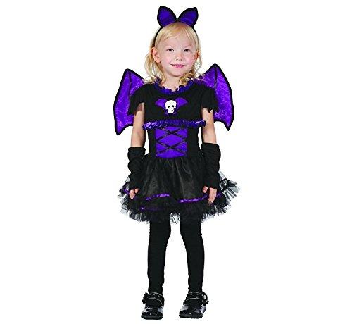 Fledermaus Mädchen 92/104 Kinderkostüm (Batgirl Kostüme Für Kleinkind Mädchen)