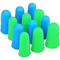 Preisvergleich für SDGDFXCHN 3 Stück Silikon-Finger Schützer Finger Hülsen für Klebstoff/Handwerk/sewist/Wachs/Finger Cracking/Sport...