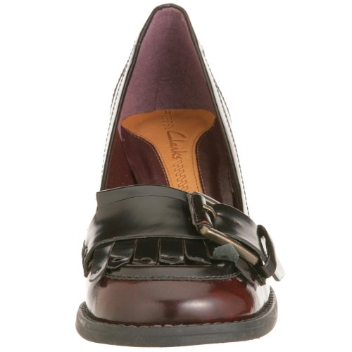 Clarks Be Hold 203332024040, Scarpe donna Rosso