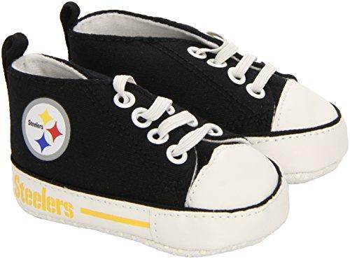 Baby Fanatic Pre-Walker Hightop, Pittsburgh Steelers -