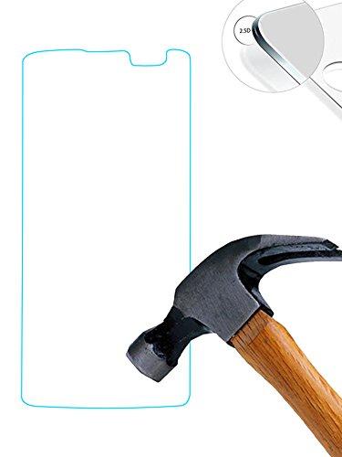 Lusee (Couvrir uniquement la partie plate) 2 x pack verre trempé protège pour LG Q7 RÉSISTANT INDICE Dureté 9H 2.5D 0,3mm Haute transparence