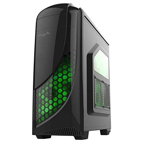 Myria Live V51 - Ordenador de sobremesa (IT, PC, Desktop, Intel Core i3-7100 3.9GHz, 4GB, 1TB, NVIDIA GeForce GT 730 2GB) Color Negro