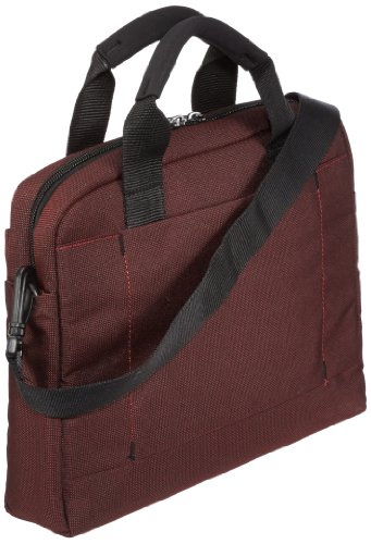 "Samsonite Cartella Network 2 Laptop Bag 11""-12.1"" 6 liters Nero (Charcoal) 51882-1174 Ionic Red"