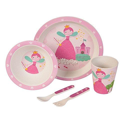 Set–couvert-Princesse-Ustensiles-en-bambou-Ustensiles-pour-enfants-rutilisables-Assiettes-Gobelets-Bol–muesli-cuillre-fourchette-rsistant-au-lave-vaisselle-sans-BPA