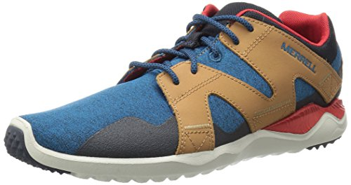Merrell 1six8 Lace M, Sneaker Uomo Blu/Beige/Rosso
