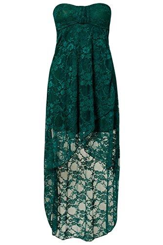 Dissa® Deman Grün SY6238-4 Abendkleid Grün