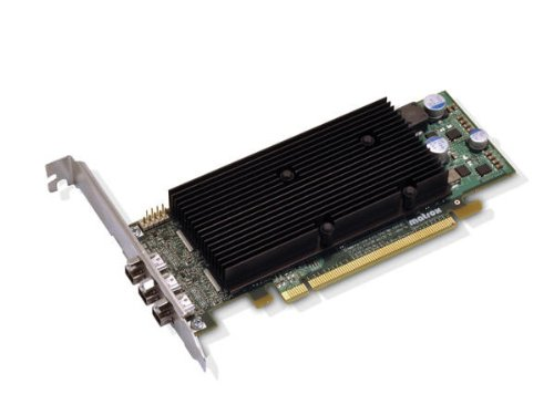 Matrox M9138 LP Grafikkarte (PCI-e x16, 1GB, 3 DisplayPort)