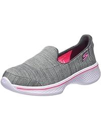 Skechers Go Walk 4, Zapatillas para Niñas