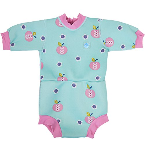 Splash About Baby Happy Nappy-Schwimmanzug, Apfel Daisy, 12-24 Monate, HNWADXL