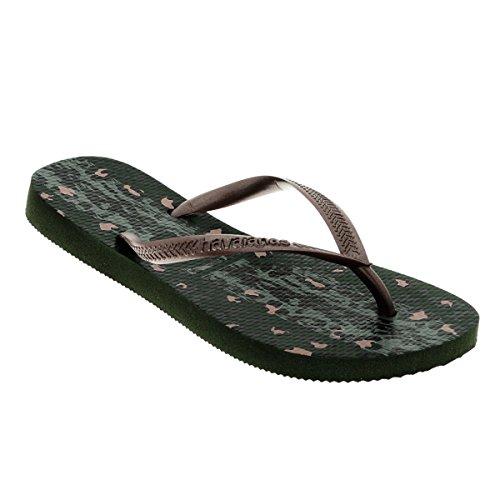 havaianas-slim-animals-womens-sandals-uk-3-4-green-olive