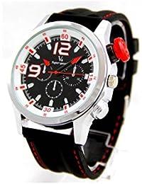 V6 Montre Homme MONTRE2440-2 - Reloj , correa de silicona color negro