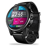 Hifuture 4G Smart Watch,1,6 Zoll Kristalldisplay 1,25 GHz Quad Core Smartwatch, 1GB + 16GB 5.0MP 600mAh WiFi GPS Kamera 4G Datenanruf Uhr,kompatibel mit IOS und Android(Schwarz)