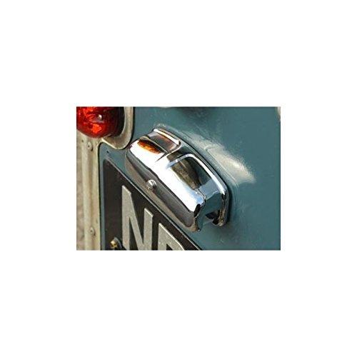 ECLAIREUR DE Plaque Police Chrome pour Defender Serie 2 ET 3 pour Land Rover - XFC100550CH