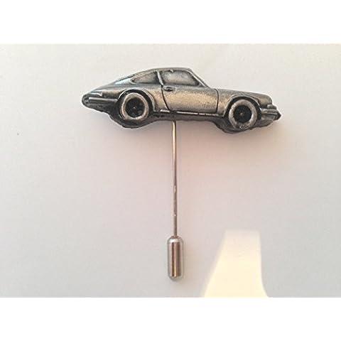 Porsche 911, su una cravatta Stick Pin Cappello Sciarpa colletto (Piccolo Cappello Pin)