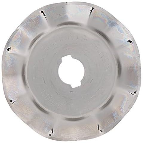 OLFA/PRYM 611365 Ersatzklinge 45mm Wellenklinge für Rollschneider Maxi, Comfort und Multi (Comfort Wave)