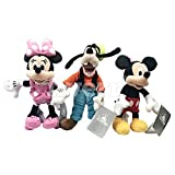 Mickey Mouse Mini Bohne Satz (Mickey/Minnie / Goofy)