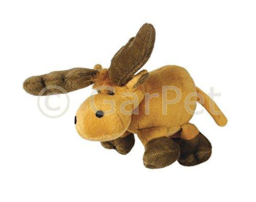 hundeinfo24.de Hundespielzeug Plüsch Quietscht Hunde Spielzeug Elch