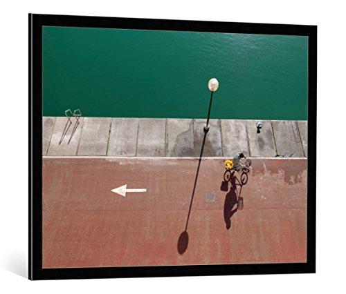 quadro-con-cornice-paolo-luxardo-in-bici-stampa-artistica-decorativa-cornice-di-alta-qualita-100x75-
