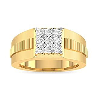 PC Jeweller The Ishrant 18KT Yellow Gold & Diamond Rings