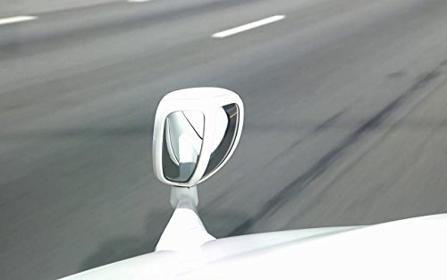 Autopearl Car Bonnet Mirror for Scorpio (White)
