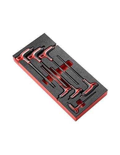 Facom Module 7 clés mâles 6 pans poignées en t