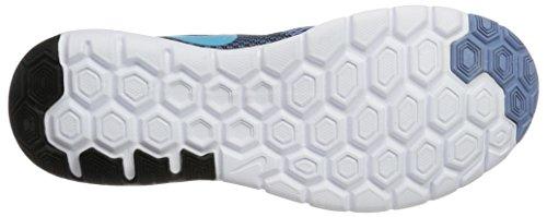Nike Flex Experience Rn 6, Chaussures de Course Homme Multicolore (Work Blue/chlorine Blue/black/white)
