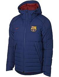 Nike 2018-2019 Barcelona Down Fill Jacket (Royal Blue)