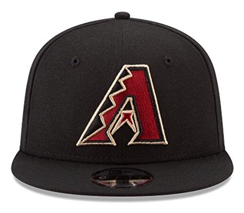 New Era Arizona Diamondbacks Snapback MLB National League Patch, unisex, schwarz -