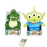 Price Toys Toy Story 4 Peluche Disney Pixar Collection - Woody, Buzz Lightyear, Jessie, Bo Peep, Forky, Alien e Rex (Rex / Alien)