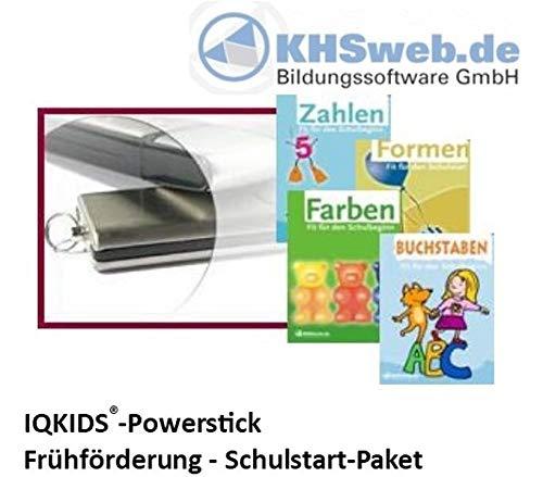 n Schulstart - USB-Stick - Windows 10 / 8 / 7 / Vista / XP: Formen, Zahlen, Farben, Buchstaben - spielerisch erlernt (Fit für den Schulbeginn) ()