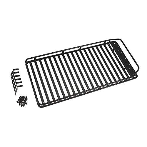 leenBonnie Portabagagli per Tetto in Metallo con 1/10 RC Car SCX10 RC4WD D90 Arrampicata Crawler RC Ricambi Auto Accessori Componente